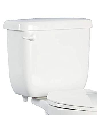 PROFLO PF5112HEWH High Efficiency Toilet Tank Only - Left Mounted Trip Lever