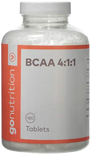 GoNutrition BCAA Tablets, 1500 mg, 180-Count