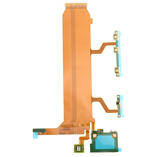 Liaoxig Sony Spare Cavo della Scheda Madre (Alimentazione e Volume e Microfono) Flex for Sony Xperia Z Ultra / XL39h / C6806 Sony Spare