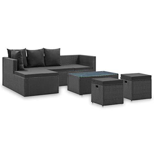 ikea loungeset zwart