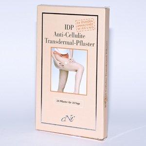 IDP Anti-Cellulite Transdermal-Pflaster (28 Pflaster für 28 Tage)