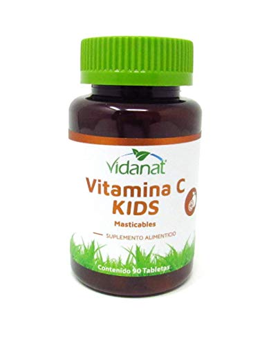 Vitamina C Kids 90 tabletas masticables Vidanat