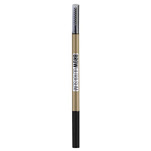 Maybelline New York Brow Ultra Slim Liner, wenkbrauwstift, 01 blonde, blond, 1 stuks