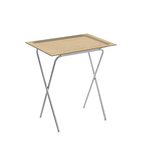 DON HIERRO - Table d'appoint pliable avec plateau amovible, ADA