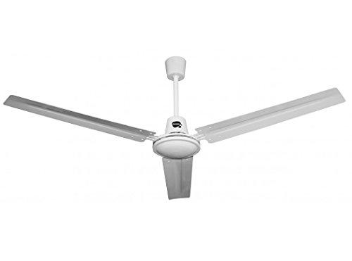 VIVAHOGAR - Ventilador techo 60w 3 veloc 3 aspas 140cm vivahogar kudo