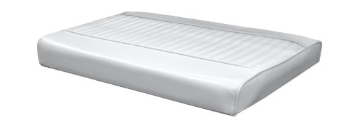 Wise Replacement Seat Cushion Boat Seat, White