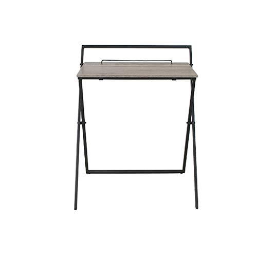 GXCGT Klaptafel, draagbaar, verbeterde versie van de tafel, multifunctioneel, frame van aluminiumlegering met draagvermogen van 50 kg, bijzettafel voor kantoor