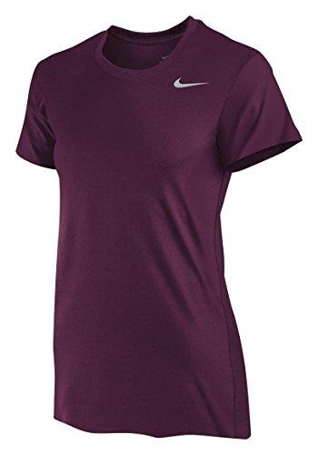 Nike Women's Legend Shirt,Medium,Dark Maroon