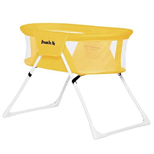 Dream On Me Mackenzie Bassinet in Yellow