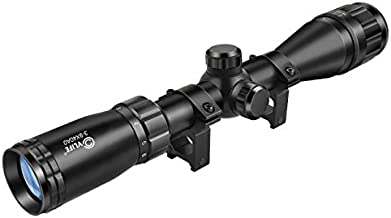 CVLIFE 3-9x40AO Optics R4 Reticle Crosshair Scope with 20mm Free Mounts