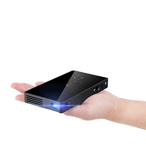 Mini proyector de vídeo portátil Mini 1080P WiFi Smart Pocket 5000 S Dlp Pico Proyector HD producto de cine casa con corrección Bluetooth Keystone
