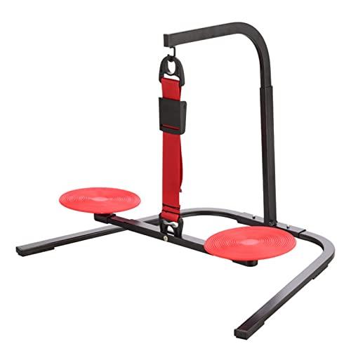 MMZB Ejercitador de Pedal de pie extraíble, Mini en Bicicleta de Ejercicios de Escritorio, 3 Niveles Ajustables, rotativo de 360 °, Antideslizante cómodo, para Oficina en casa Mesa de Interior