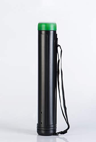 BNC Plastic Storage Tube - Documents Blueprints Artwork Hard Plastic Expandable Carrying Case
