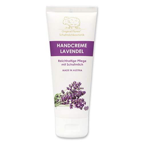 Handcreme mit Schafmilch - Lanolin i.d.Tube - 70 ml - Lavendel - Florex Schafmilchkosmetik