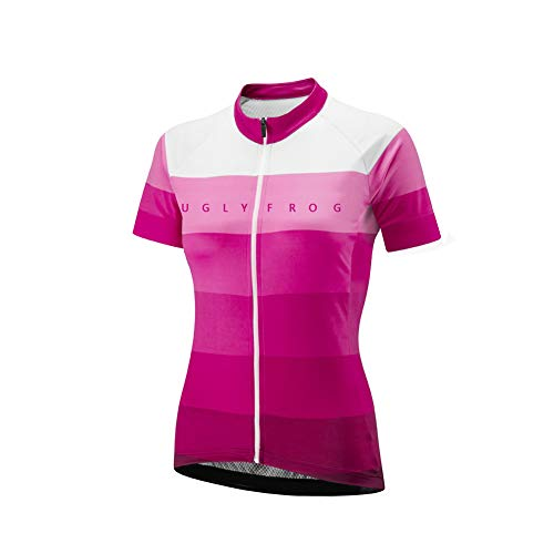 Uglyfrog HHDW05 Neue Radtrikot Shirt Kurzarm Pro Team MTB Radfahren Top Radshirt Atmungsaktiv Sommer Fahrradtrikot Shirt Damen Breathable Radfahren Clothes Stilaktualisierung
