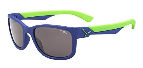 Cébé Avatar Gafas de Sol, Unisex niños, Matt Blue/Green,