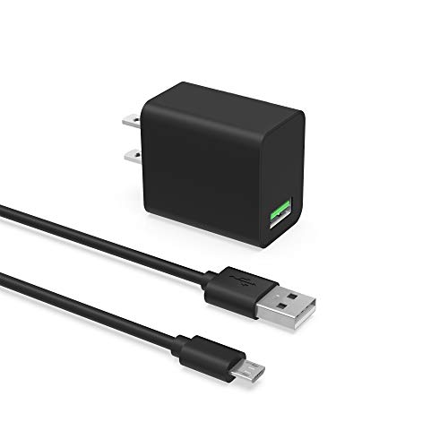 Fast Quick Charger Fit for Samsung Galaxy S7 Active/Edge, S6 Edge/Active/Edge+, S5 Active/Mini/Sport, S4 Active/Developer Edition/Mini/Zoom, S III Developer Edition/Mini, S II Phone Power Adapter Cord