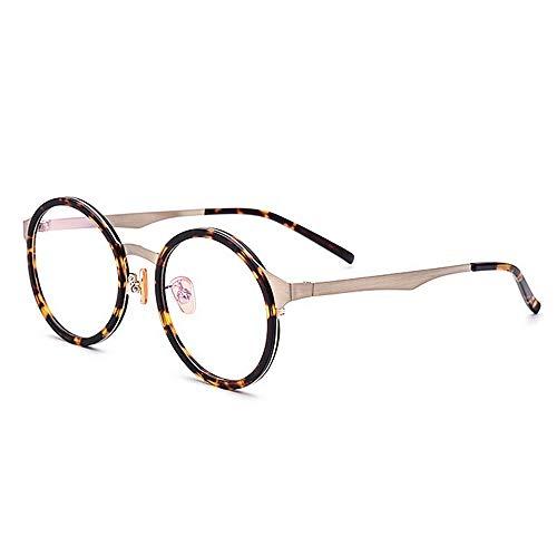 Protección UV de estilo clásico Lentes simples de mujeres ligeras Gafas de...