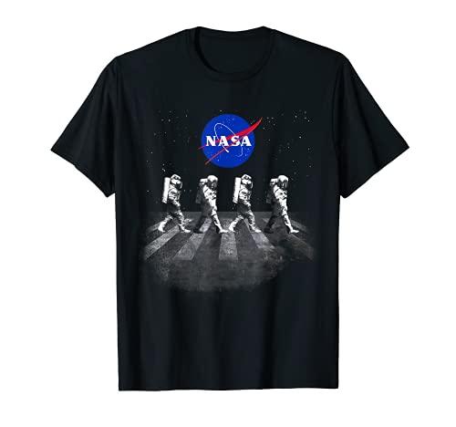 NASA T-Shirt Walking Astronauts in Space