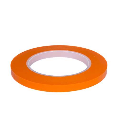 DonDo Fineline Konturenband Zierlinienband lackieren Airbrush Masking Tape Orange 9mm x 55m