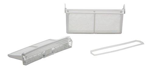 DREHFLEX- Filtro Lanugine – Filtro cattura peluria per diverse marche di asciugatrice –Bosch, Siemens, Constructa, Neff – Compatibile con le parti nr. 650474/00650474 – Piegabile - Set di 3 parti