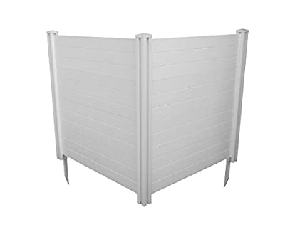 """Zippity Outdoor Products Premium Vinyl Privacy Screen, 48""""W x 48""""H (Unassembled)"""