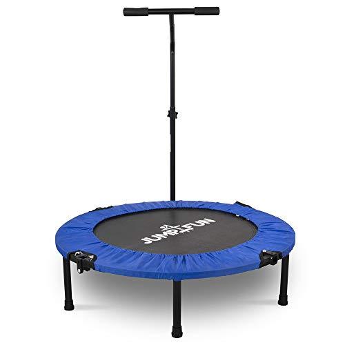 JUMP4FUN Mini Trampoline Fitness Pliable T-Bar -...