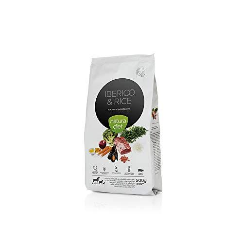 Natura Diet Ibérico & Rice 0.5Kg Comida para Mascotas - 500 gr