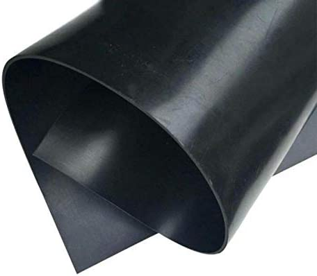Neoprene Rubber Sheet Rolls Strips 1 8 125 Thick x 5 Wide x 10 Long Solid Rubber product image