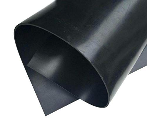 "Neoprene Rubber Sheet, Rolls, Strips 1/8"" (.125"") Thick x 2"" Wide x 10' Long Solid Rubber"