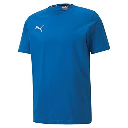 PUMA Teamgoal 23 Casuals tee Camiseta, Hombre, Electric Blue Lemonade, XL