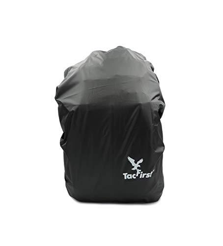 TacFirst Schutzbezug für Rucksäcke [Wasserabweisend, schützt vor Regen, Staub, Schmutz und Sonnenlicht]