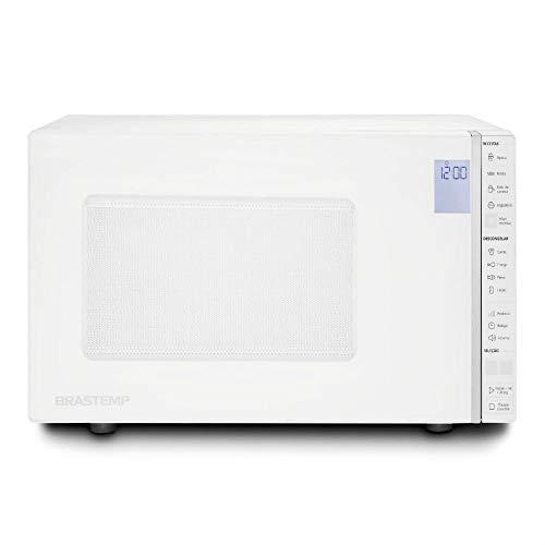 Micro-ondas Brastemp 32 Litros Branco com Painel Integrado - 110V