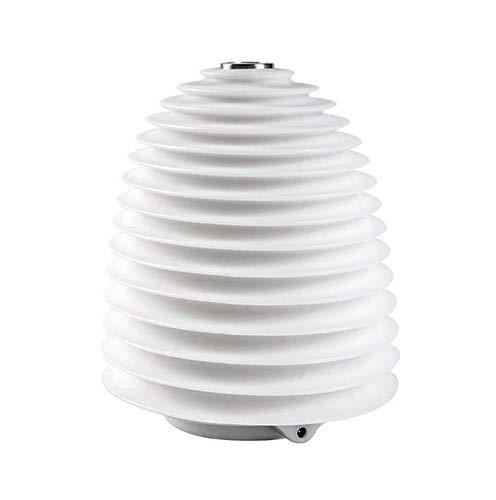 Brynnl Humidificador de luz nocturna, diseño de faro, humidificadores pequeños de 250 ml con función de humidificador de niebla fría, humidificador de escritorio USB, difusor de humidificador de aire