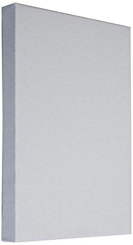 Arte & Arte Art & Art 7159.0 châssis avec Toile pour Peintres, Bois de Sapin/Coton, Blanc, 100 x 80 x 3,5 cm
