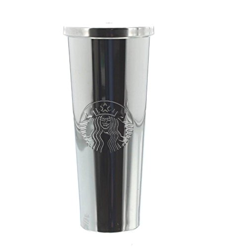 Starbucks 24 oz. Stainless Steel Cold Cup Silver Siren