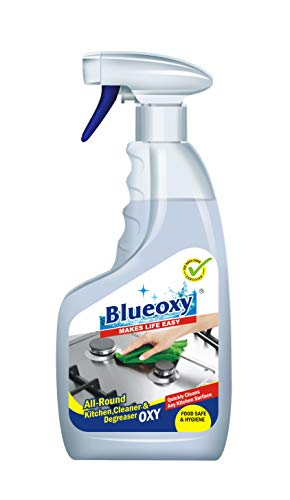Herbo Pest BlueOxy Kitchen Cleaner and Degreaser (All Round) Professional Concentrated Formula with Foam Action -500 ml