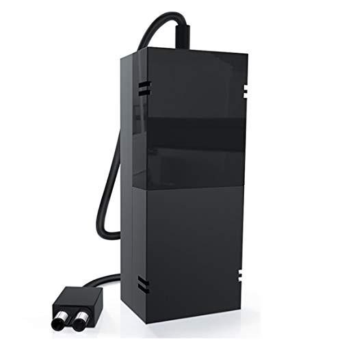 Reemplazo del adaptador de CA de fuente de alimentación OEM original de Microsoft para Xbox One (Color: negro)