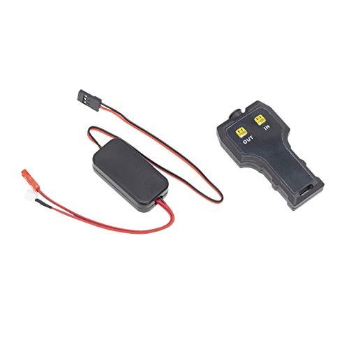 LHSJYG Cabrestante EléCtrico,Cabrestante VehíCulos EléCt Caballo eléctrico de reemplazo Profesional de Doble Motor para 1/10 RC Coche rastreador (Color : A)