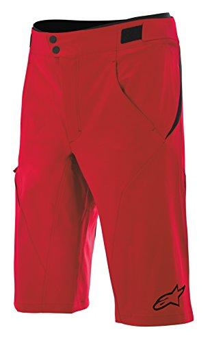 Alpinestars, Pathfinder Bicicletta Shorts-Blue/Ciano, Uomo, Red - Red/Black, FR: L (Taglia del Produttore: 36)