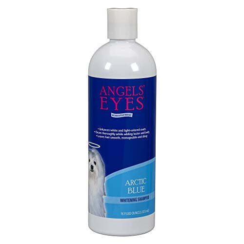 Angels' Eyes Whitening Shampoo for Dogs – 16 oz - Arctic Blue