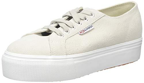 Superga Damen 2790-SUEW Sneaker, Schwarz White Cream N20, 42 EU