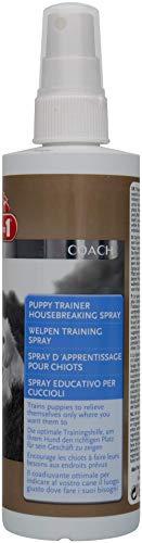 8in1 Welpen Training Spray für junge Hunde (Erziehungshilfe für schnellen und nachhaltigen Lernerfolg, für drinnen und draußen), 230 ml Flasche