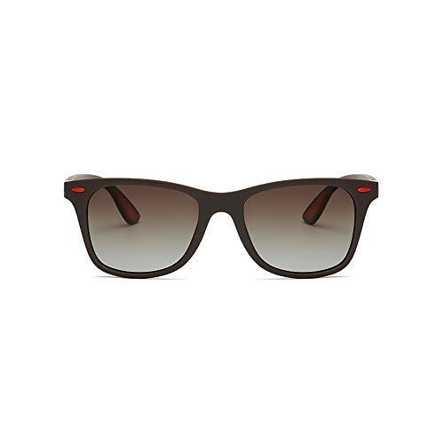 Yeeseu Gafas de sol polarizadas for hombre de las gafas de sol TR Pesca de conducción al aire libre ultraligero gafas de sol gafas de moda (Color: Negro, Tamaño: Libre) Ciclismo, Correr, Pesca, Pesca,