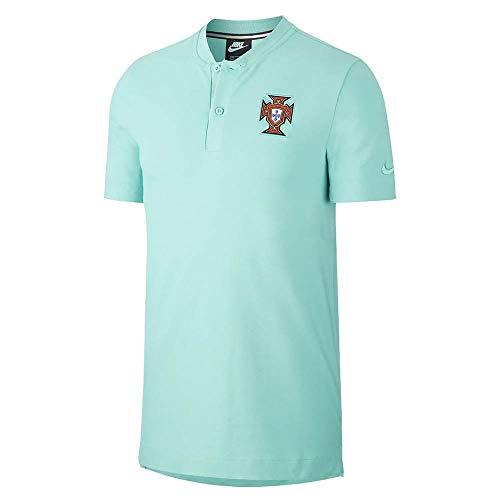 Nike 2020-2021 Portugal Auténtico Polo (menta)