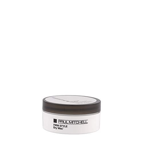 Paul Mitchell Dry Wax - Haar-Wachs für feste Stylings, professionelles Hairstyling für langanhaltende formbare Looks, für alle Haartypen - 50 g