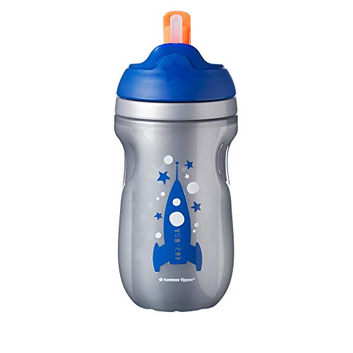Tommee Tippee Insulated Toddler Straw Sippy Cup, 12+ months