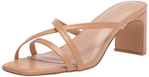 The Drop - Amelie, Sandali con Tacco E Punta Quadrata, Heeled-Sandals Donna