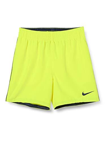 NIKE 4 Volley Short Bañador, Niños, Lemon Venom, M