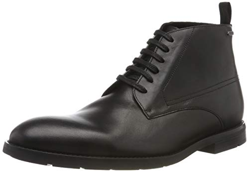 Clarks Herren Ronnie Up GTX Klassische Stiefel, Schwarz (Black Leather Black Leather), 42 EU